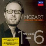MOZART - Prosseda - Sonate pour piano n°1 en do majeur K.279 (K6.189d)