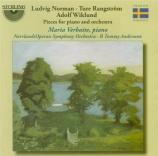RANGSTRÖM - Verbaite - Ballade pour piano et orchestre