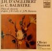 ANGLEBERT - Baumont - Pièces de clavecin d'après Mr Lully