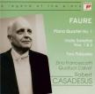 FAURE - Casadesus - Quatuor avec piano n°1 en ut mineur op.15
