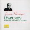 LYAPUNOV - Kentner - Douze études d'exécution transcendante op.11