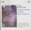 FRANCK - Benzi - Variations symphoniques pour piano et orchestre