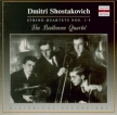 CHOSTAKOVITCH - Beethoven Quart - Quatuor à cordes n°1 op.49