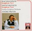 RACHMANINOV - Previn - Symphonie n°3 en la mineur op.44