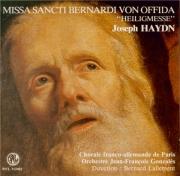 HAYDN - Lallement - Missa Sti Bernardi von Offida, pour solistes, choeur