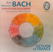 BACH - Octuor de Franc - Variations Goldberg, pour clavier BWV.988