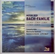 Musique instrumentale et vocale de la famille Bach