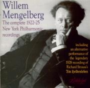 The complete 1922-25 New York Philharmonic Recordings