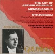 MENDELSSOHN-BARTHOLDY - Grumiaux - Concerto pour violon et orchestre en