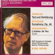 STRAUSS - Böhm - Tod und Verklärung (Mort et transfiguration), poème sym