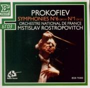 PROKOFIEV - Rostropovich - Symphonie n°6 en mi bémol mineur op.111