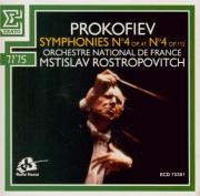 PROKOFIEV - Rostropovich - Symphonie n°4 en do majeur op.47 (première ve