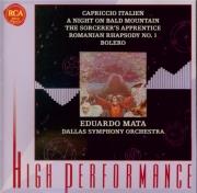 TCHAIKOVSKY - Mata - Capriccio italien, poème symphonique pour orchestre
