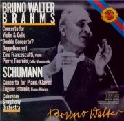 BRAHMS - Walter - Double concerto pour violon et violoncelle avec orches