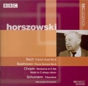 BACH - Horszowski - Suite française n°6, pour clavier en mi majeur BWV.8 Concert Wigmore Hall, London juin 1990