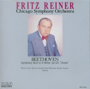 BEETHOVEN - Reiner - Symphonie n°9 op.125 'Ode à la joie' (import Japon) import Japon