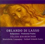LASSUS - Schmidt-Gaden - Psalmi Davidis poenitentiales : extraits