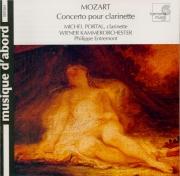 MOZART - Entremont - Concerto pour clarinette et orchestre en la majeur