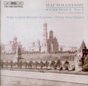 RACHMANINOV - Hughes - Symphonie n°1 en ré mineur op.13