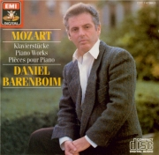 MOZART - Barenboim - Fantaisie pour piano en ré mineur K.397 (K6.385g)