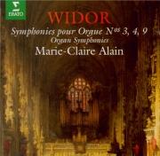 WIDOR - Alain - Symphonie n°3 op.13 n°3 : extraits