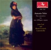 SOLER - Paul - Concertos (6) pour 2 claviers