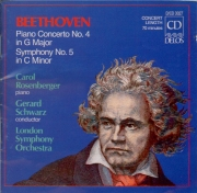 BEETHOVEN - Schwarz - Concerto pour piano n°4 op.58