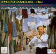VIVALDI - Gazzelloni - Concerto pour flûte et deux violons, basson et b