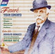 FAURE - Batiz - Concerto pour violon et orchestre op.14 : inachevé