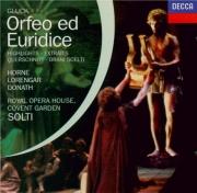 GLUCK - Solti - Orfeo ed Euridice : extraits