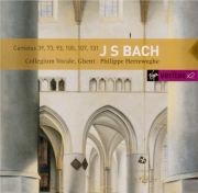 BACH - Herreweghe - Brich dem Hungrigen dein Brot, cantate pour solistes