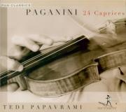PAGANINI - Papavrami - Vingt-quatre caprices pour violon op.1 MS.25