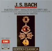 BACH - Smith - Partita pour violon seul n°2 en ré mineur BWV.1004 Transcriptions pour luth