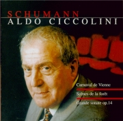 SCHUMANN - Ciccolini - Faschingsschwank aus Wein (Carnaval de Vienne), c