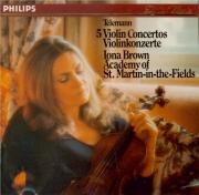 5 Violin Concertos