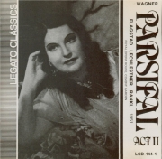 WAGNER - Rankl - Parsifal WWV.111 : acte 2 (Live Covent Garden 1951) Live Covent Garden 1951