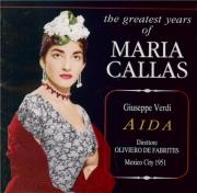 VERDI - De Fabritiis - Aida, opéra en quatre actes (Live Mexico 1951) Live Mexico 1951
