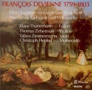 DEVIENNE - Thunemann - Trois quatuors avec basson op.73