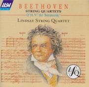 BEETHOVEN - Lindsay String - Quatuor à cordes n°8 op.59-2 'Razoumovsky