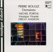 BOULEZ - Masson - Domaines