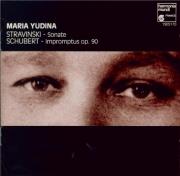 SCHUBERT - Yudina - Quatre impromptus, pour piano op.90 D.899
