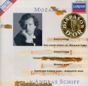 MOZART - Schiff - Douze variations pour piano en do majeur sur 'Ah, vous