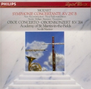 MOZART - Marriner - Sinfonie concertante pour hautbois, clarinette, cor