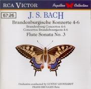 BACH - Brüggen - Concerto brandebourgeois n°4 pour orchestre en sol maje