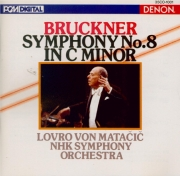 BRUCKNER - Matacic - Symphonie n°8 en ut mineur WAB 108 (import Japon) import Japon