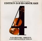 SIBELIUS - Oistrakh - Concerto pour violon et orchestre op.47