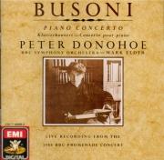 BUSONI - Donohoe - Concerto pour piano et orchestre avec choeur d'hommes