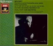 MOZART - Gieseking - Concerto pour piano et orchestre n°20 en ré mineur