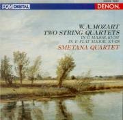 MOZART - Smetana Quartet - Quatuor à cordes n°16 en mi bémol majeur K.42 Import Japon