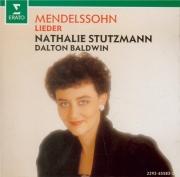 MENDELSSOHN-BARTHOLDY - Stutzmann - Der Blumenstrauss (Klingemann), pour